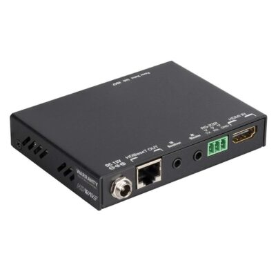 Enhanced HDMI Extender over Single Cat.X with HDBaseT-Lite