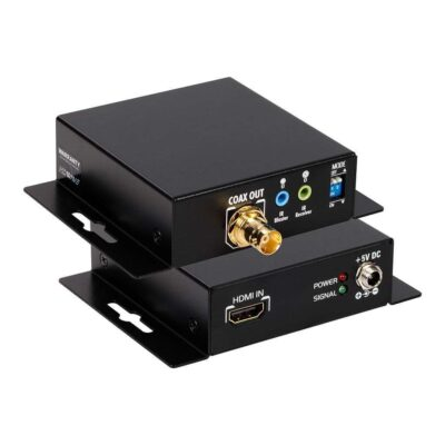 HDMI Extender over Single Coax with Bi-directional IR