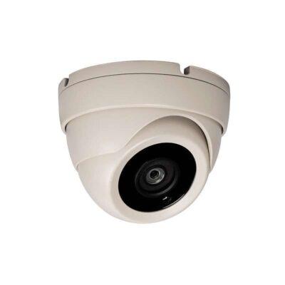 HD TVI 5MP Small Eyeball Dome Camera Ivory K6507